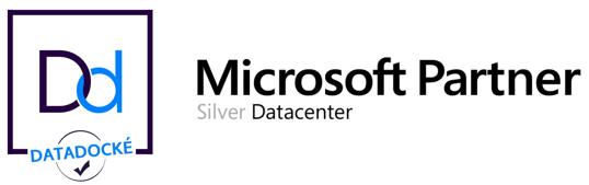 Logo Datadocké et Microsoft Partner Silver Datacenter